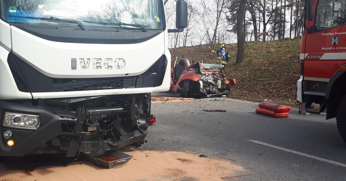 Tödlicher Unfall Neustadt Donau