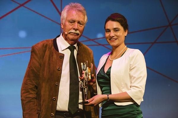 © Dr. Leidgens (rechts) mit Professor Wiegard, Quelle: Bayernwerk AG