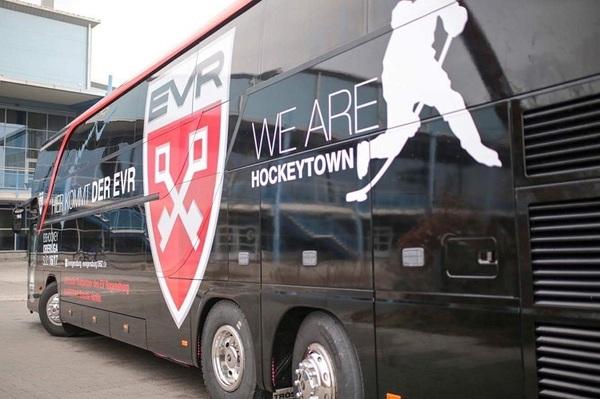 © EVR, neuer Mannschaftsbus