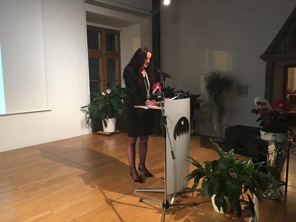 © Charivari, im Bild: Karin Bucher, Bürgermeisterin von Cham