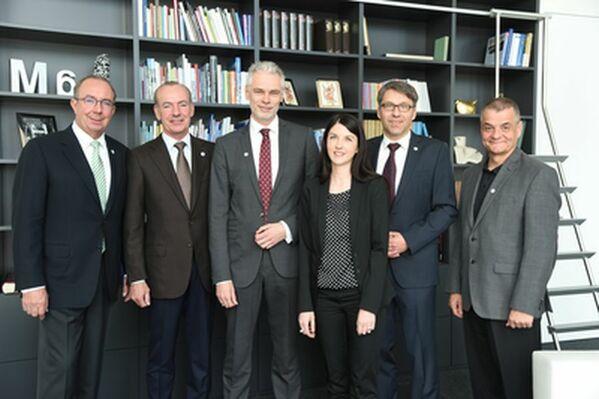 © vlnr: Peter Esser, Thomas Esser, Manfred Sauerer, Andrea Fiedler, Josef Pöllmann, Martin Wunnike (Foto: Tino Lex)
