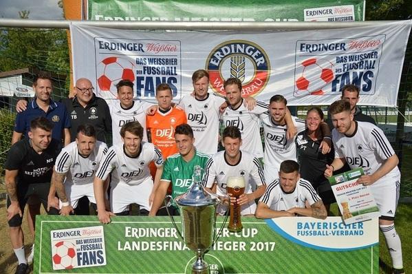 © BFV: SV Pullach -Siegerteam der Herre