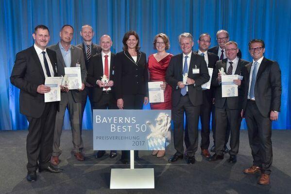 © Wirtschaftsministerium / Oberpfälzer Preisträger