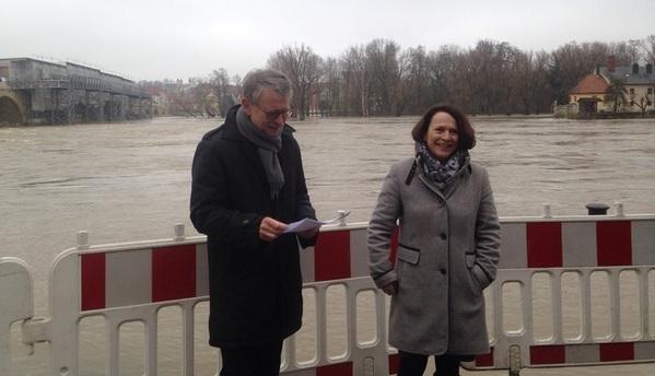 © charivari, Rechtsreferent Schörnig und Bürgermeisterin Maltz-Schwarzfischer geben Entwarnung