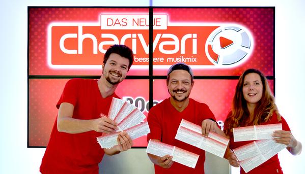 © charivari Moderatoren Sebastian Will, Wolfgang Subirge und Angie Eckert