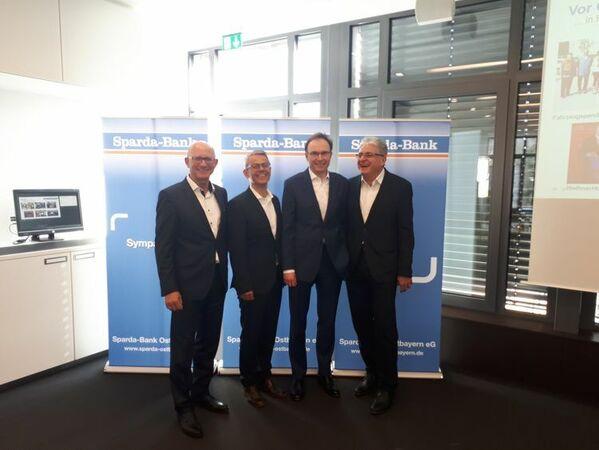 © v.l.n.r. Georg Thurner, Michael Gruber, Werner Dollinger, Johannes Lechner
