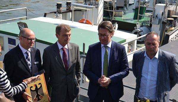 © Wasserstraßen- und Schifffahrtsverwaltung des Bundes (WSV)