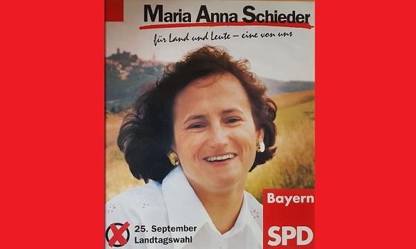 © Wahlplakat für die Landtagswahl 1994