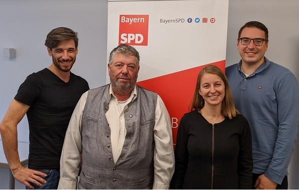 © v.l.n.r.: Matthias Jobst, Reinhard Peter, Katja Stegbauer, Sebastian Koch