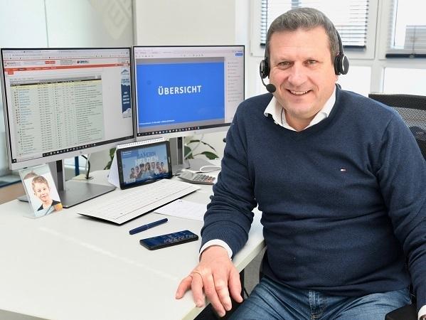 © IT-Remarketing-Spezialisten Rainer Mißlbeck angehängt (Foto: H.C. Wagner)