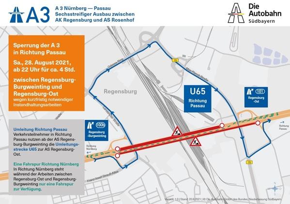 Die Autobahn GmbH des Bundes, Niederlassung Südbayern, © Die Autobahn GmbH des Bundes, Niederlassung Südbayern