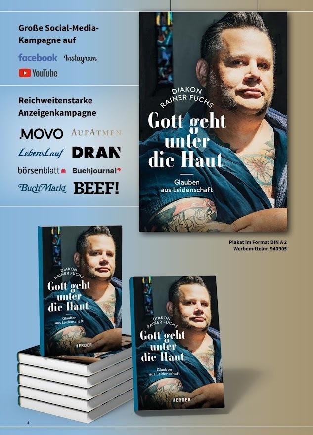 """© Rainer Fuchs """"Gott geht unter die Haut"""" HERDER Verlag"""